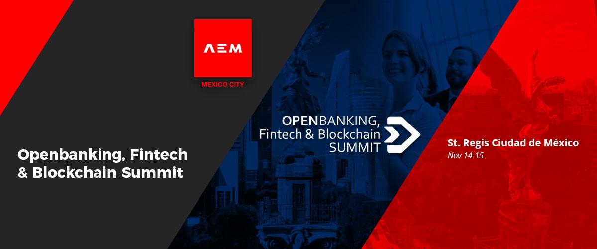 Openbanking, Fintech & Blockchain Summit